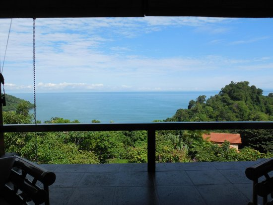 Tulemar Bungalows & Villas: View from the living room -- this is what you see when you enter the house.
