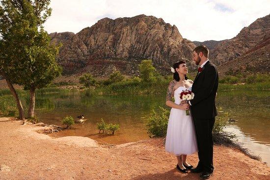 Scenic Las Vegas Weddings Chapel Spring Mountain Ranch State Park
