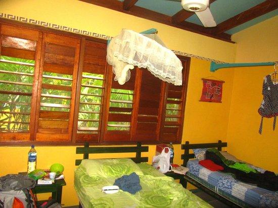 Hotel Guarana: La chambre !