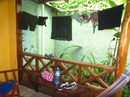 Hotel Guarana: La terrasse !
