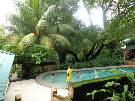 Hotel Moana : area de piscina
