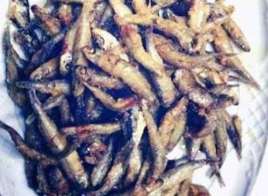 Tasca Tagoror: Sardinas frito