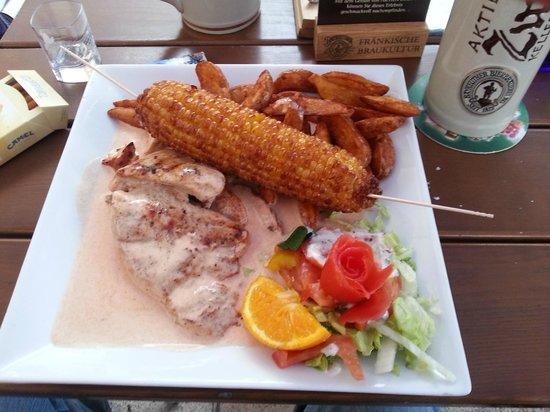 Hot Bandito Bar & Restaurant: Putenschnitzel 7,90