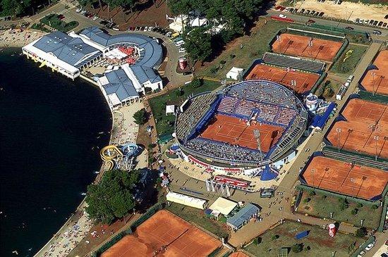 Apartments & Rooms Barbara: Tennis cort - Umag