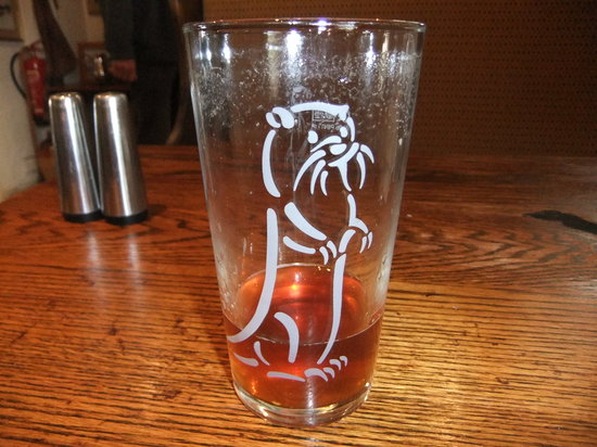 The Hood Arms: they serve Otter ale