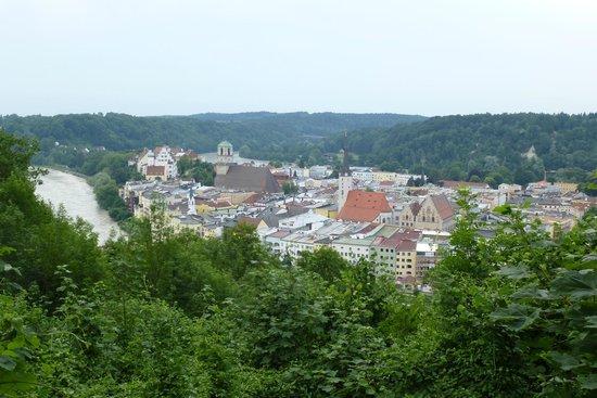 Huberwirt am Kellerberg: Aussicht vom Aussichtspunkt
