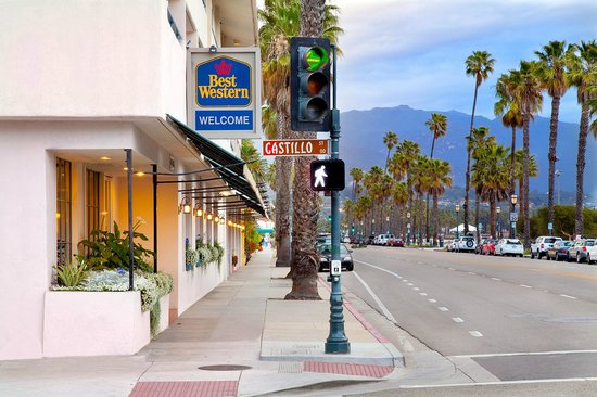 Best Western Beachside Inn: Our Harborside entrance