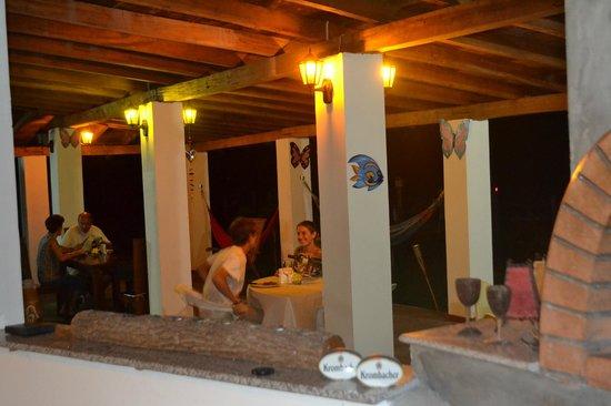 Hostal Villa Libera: terrazza