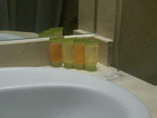 Hotel Rex: particolare del bagno