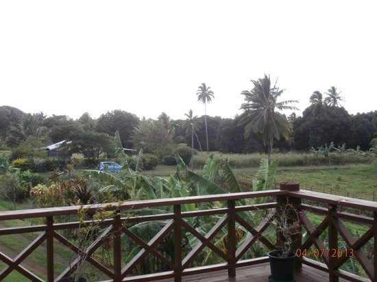 Muri Heights Villas: view from the verandah