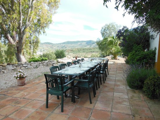 Cortijo Rosario : Outside dining - weather permitting