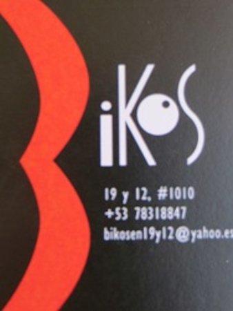 Bikos en 19  y 12 : Un lugar confortable, reservado y cálido