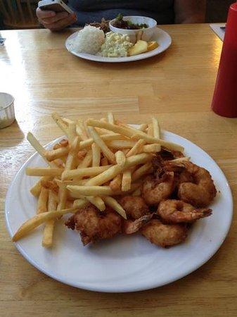 Oceans Apart: Fried Shrimp Platter