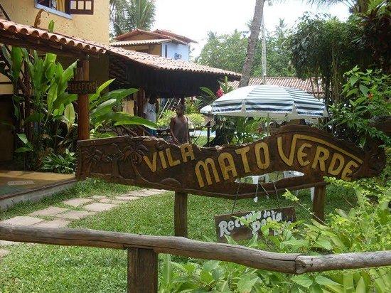 Vila Mato Verde Chalets: Primeira vista da pousada