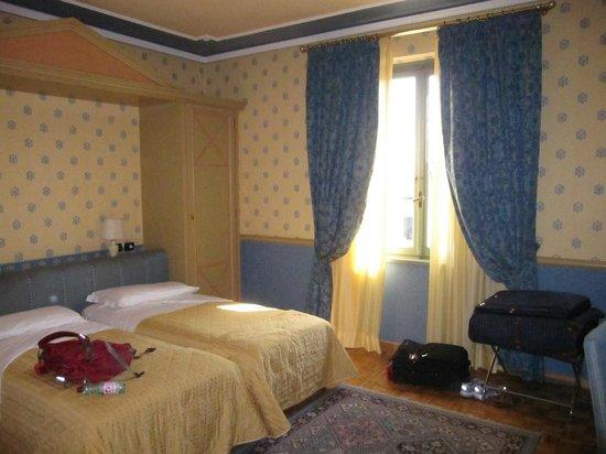 Grand Hotel Nizza et Suisse : 2 twins