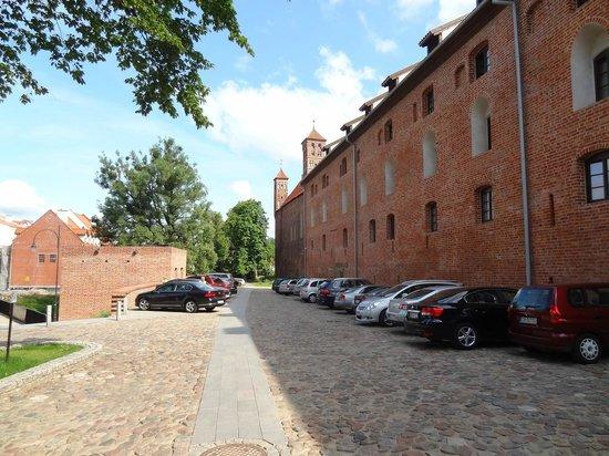 Lidzbark Warminski, Poland: Gothic Wing