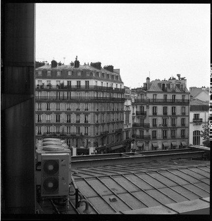 Hotel Le Squara: Blick Richtung Bd de Clichy