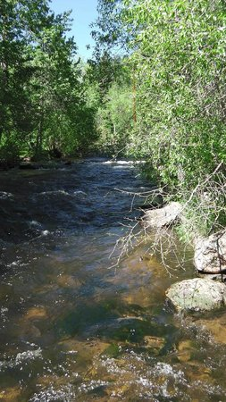 Glen Haven General Store: Views along the Big Thompson River North Fork 1