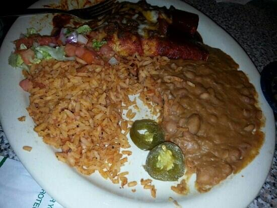 Chuy's: best refried beans