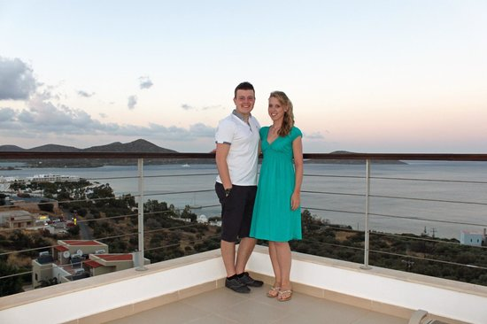 Elounda Ilion Hotel: view from balcony