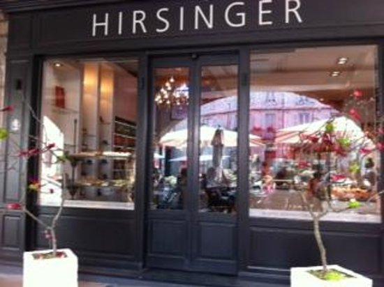 Hirsinger Chocolatier : Vitrine boutique Hirsinger