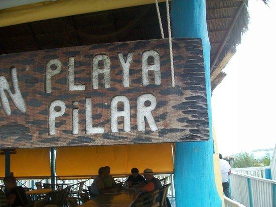 Playa Pilar: Chiringuito