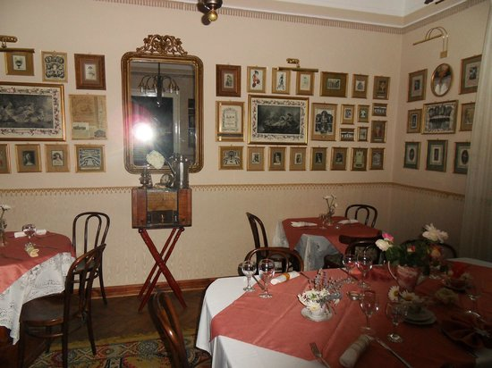 Kupol : one of the rooms in the restaurant