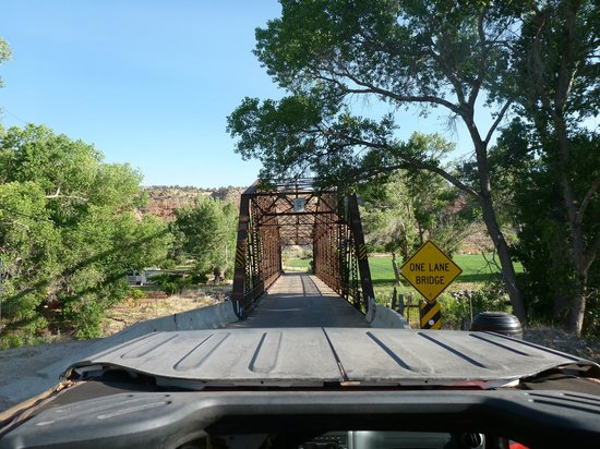 Zion Outback Safaris: Bridge by rockville