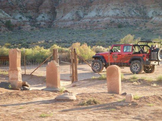Zion Outback Safaris: graveyard
