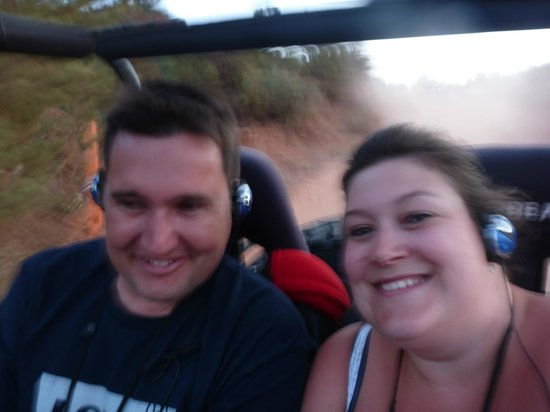 Zion Outback Safaris : Fun on the way down