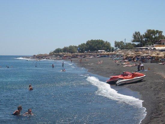 Perissa Beach: Perrissa Beach