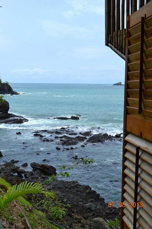 Hacienda del Mar: View from my bedroom side window
