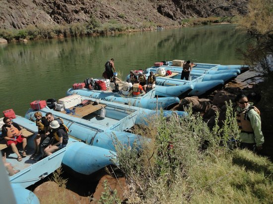 Hualapai River Runners: Hualapai motorized river rafts