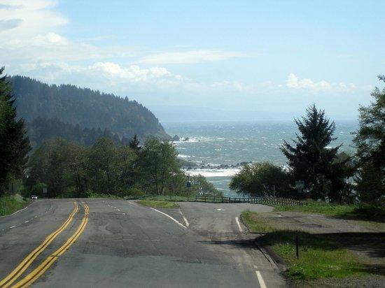 Eurêka, Californie : Redwood Highway - south of Crescent City