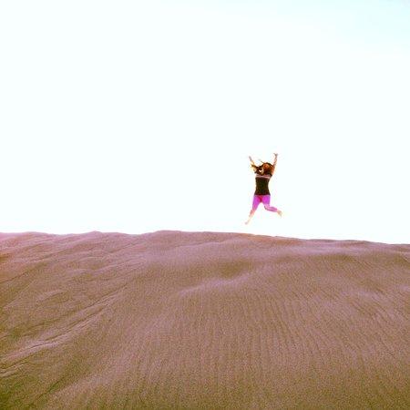 Bruneau Dunes State Park: Sand for days!