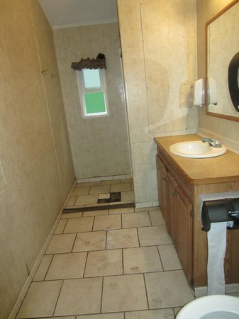 Cape May KOA : The beautiful bathrooms