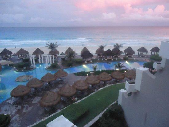 Paradisus Cancun: desde el balcon de la habitacion