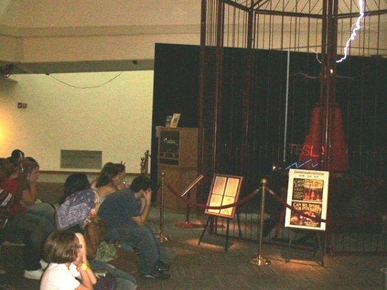 Tesla coil picture of mid america science museum hot springs mid america science museum tesla coil sciox Gallery