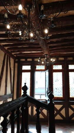 Hotel La Residence Manoir De La Salamandre : intérieur de l'hôtel