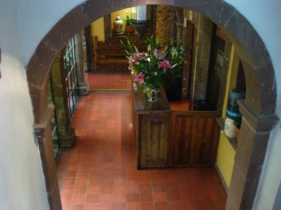 Hotel Mansion Virreyes: Recepciòn