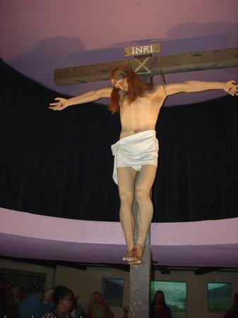 Josephine Tussauds Wax Museum: Wax Jesus