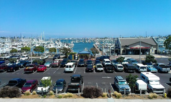 Ramada San Diego Airport: view from front of balcony