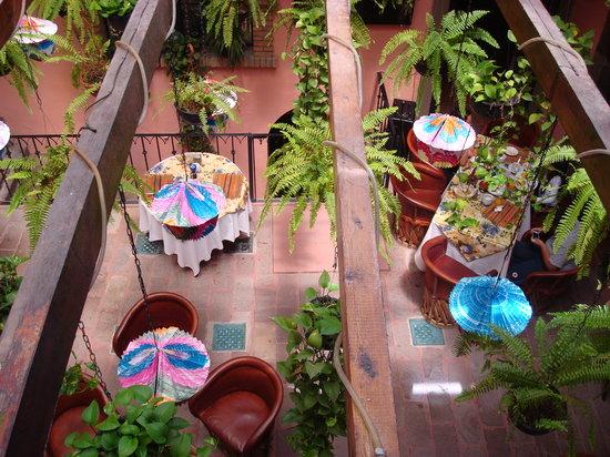 Hotel Mansion Virreyes: Terraza - Restaurant