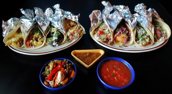 Zia Taqueria: Some of Zia's Tacos