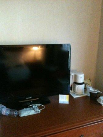 Hotel Chrome Montréal Centre-Ville : Hey, flat screen TV