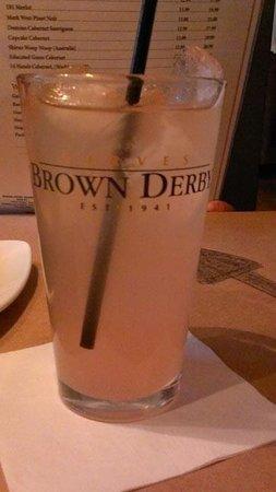 The Original Brown Derby Roadhouse: Lemonade
