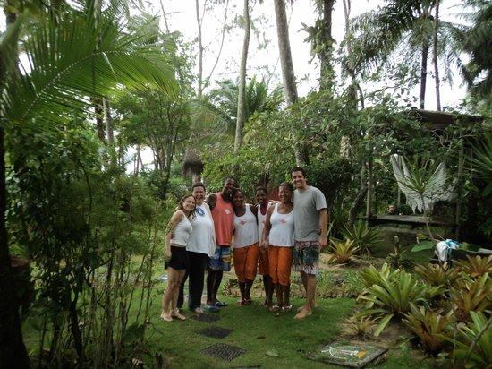 Pousada Vila Sereia: A equipe.