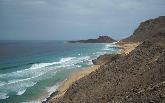 grand choix de 2019 construction rationnelle commercialisable Praia Grande and Calhau Crater - Picture of Cabo Verde ...