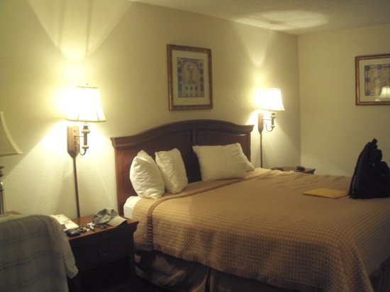 Baymont Inn & Suites Rocky Mount North Battleboro : Bed & decoration