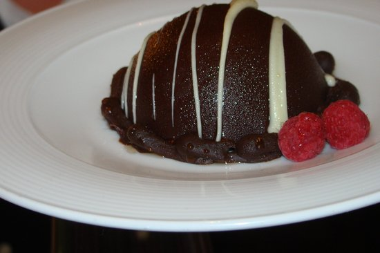 Sinclair's Restaurant: Chocolate Dome